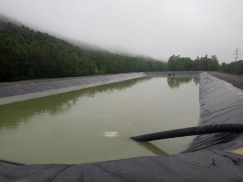 Капитальный ремонт прудов-отстойников №1, 2, 3 рудника «Молодежный»