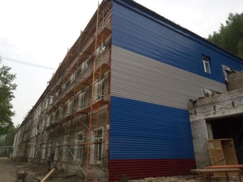 Капитальный ремонт АБК рудник «Молодежный»;