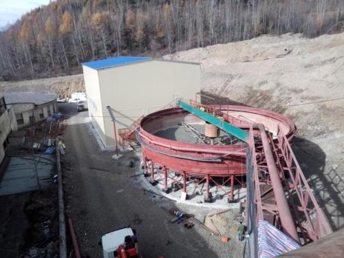 Сгуститель - монтаж технологических трубопроводов, оборудования