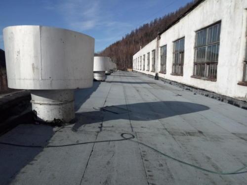 Главный корпус фабрики - демонтаж аварийных конструкций, изготовление и монтаж новый конструкций зданий, восстановление помещений операторской
