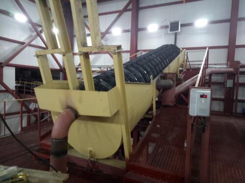 Монтаж дополнительного оборудования «Цех обезвоживания» СОФ