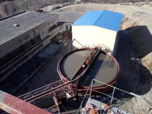Cгуститель - монтаж технологических трубопроводов, оборудования