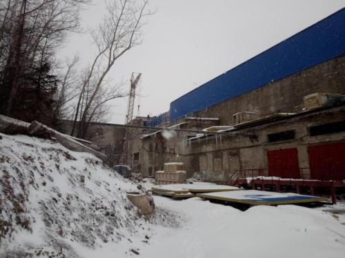 Замена аварийных конструкций стен и перекрытий СОФ